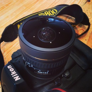 Sigma 8mm f3.5 EX DG circular fisheye lens