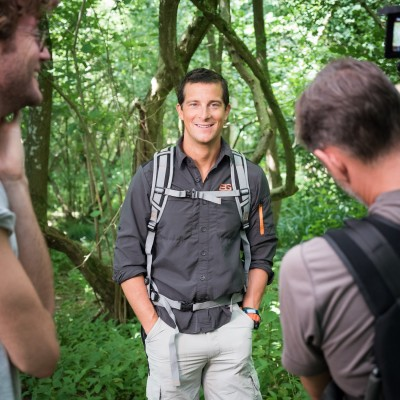 Bear Grylls on Location