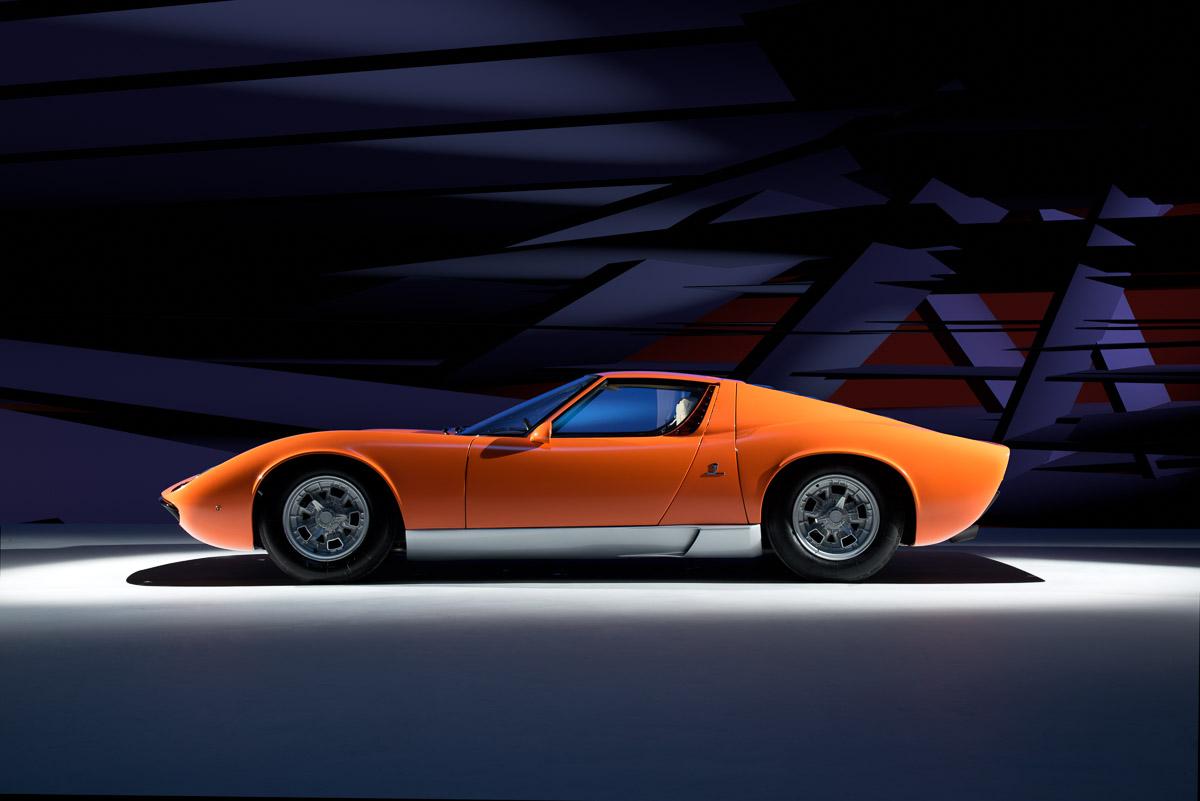 Lamborghini Miura Paul Harmer Photography