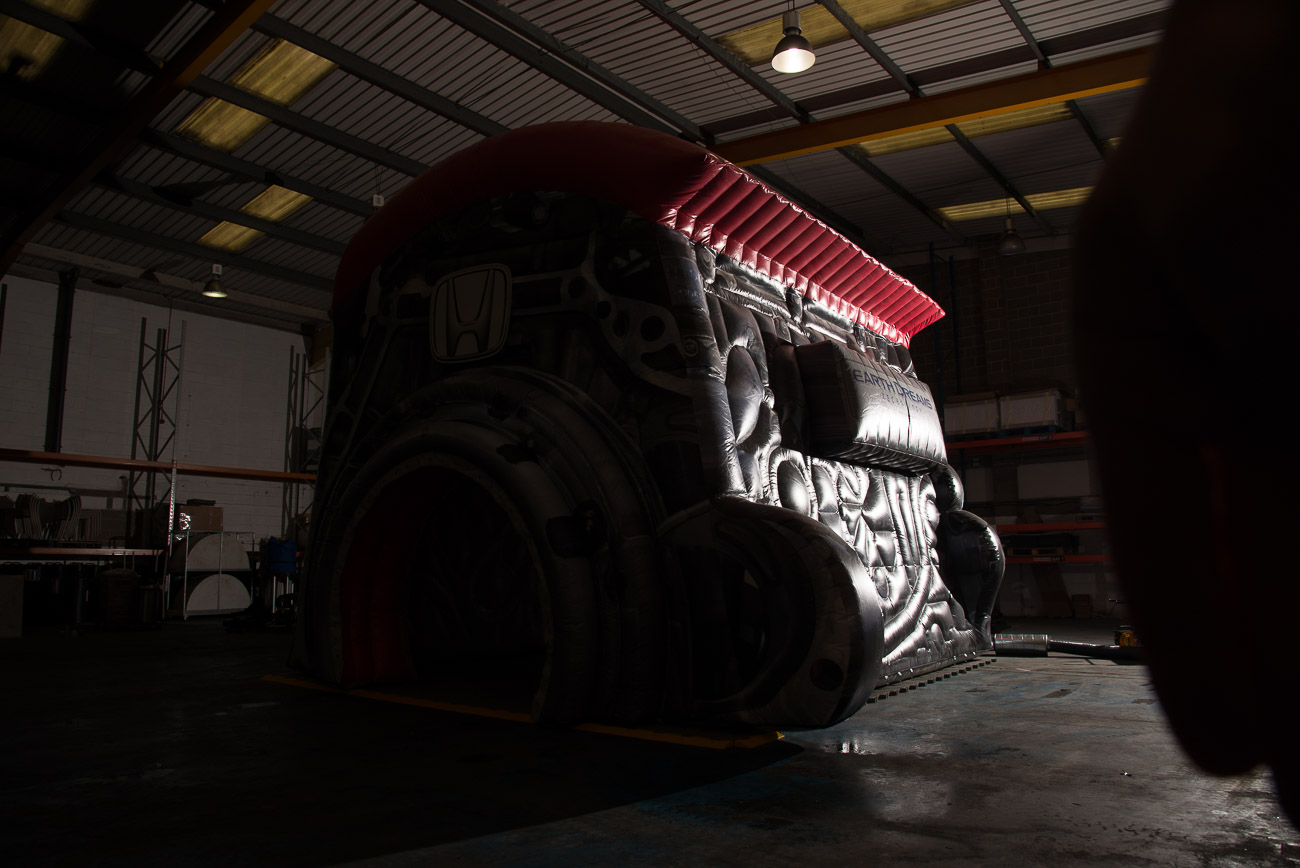 Honda Inflatable Engine at KCS Group