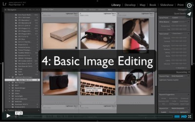 Lightroom Tutorial 4: Basic Image Editing