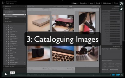 Lightroom Tutorial 3: Cataloguing Images