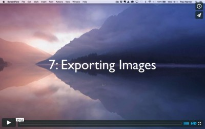 Lightroom Tutorial 7: Exporting Images