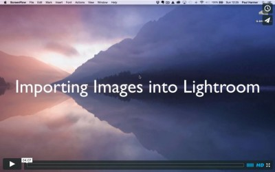 Lightroom Tutorial 2: Importing Images