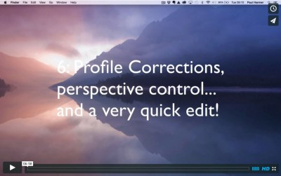 Lightroom Tutorial 6: Lens Corrections & Perspective Control