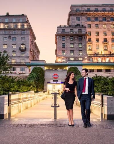 Green Park Couple