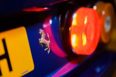 Ferrari 412 Detail