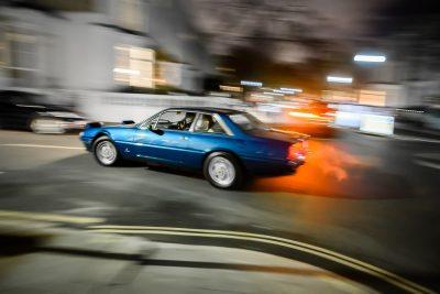 Ferrari 412 in town