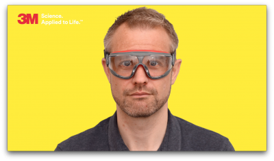 3M Eye Protection Animation