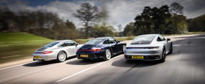Carrera 4S Group Test
