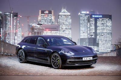 Porsche Panamera Canary Wharf